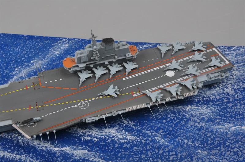 PLA Navy Aircraft Carrier. Trumpeter 06703