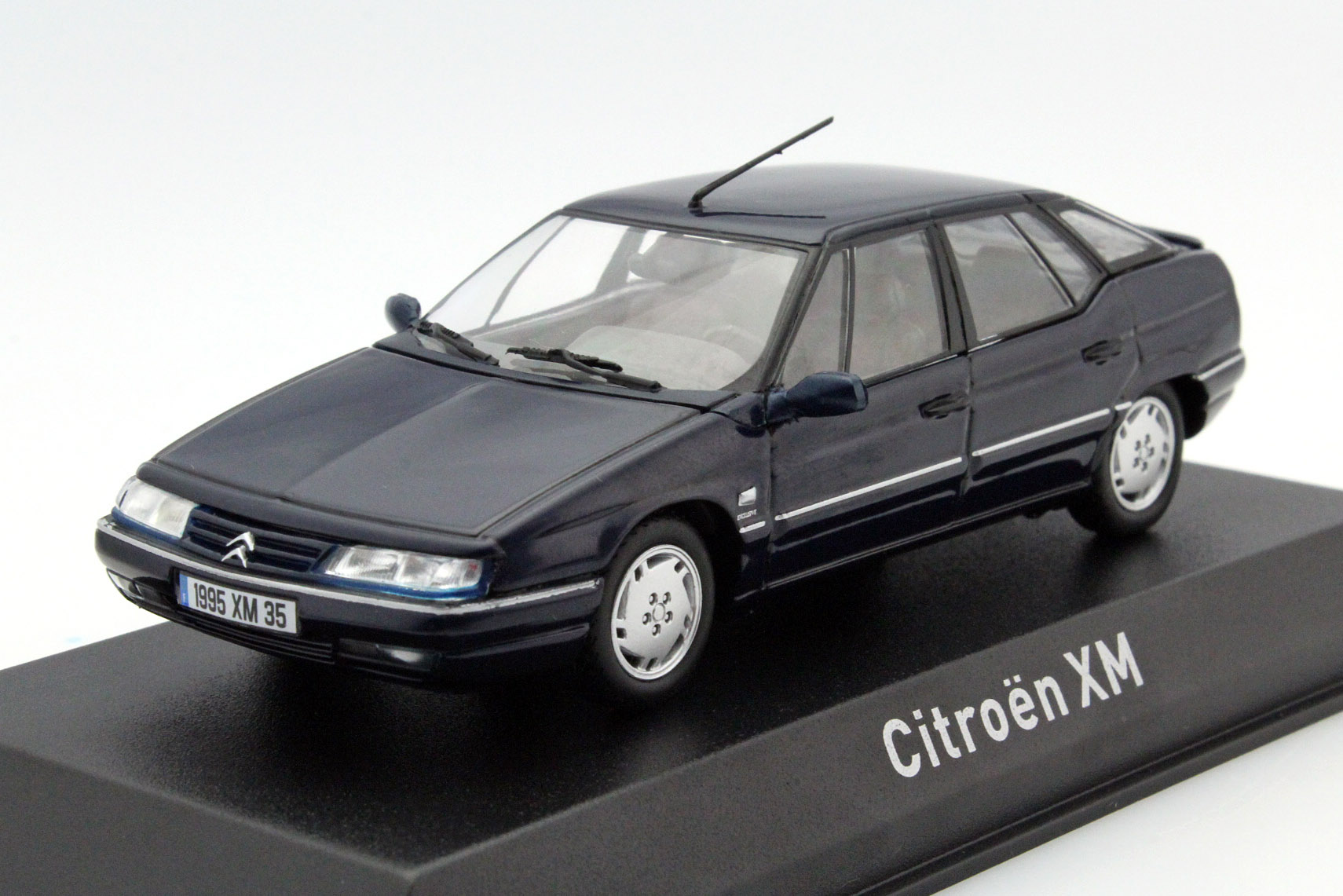 citroen xm 1995 dark blue die cast model norev 159126. Black Bedroom Furniture Sets. Home Design Ideas