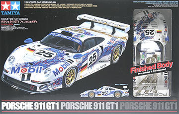 porsche 911 gt1 finished body tamiya 24264. Black Bedroom Furniture Sets. Home Design Ideas