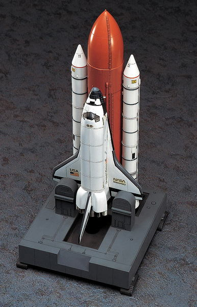 SPACE SHUTTLE ORBITER w/BOOSTERS Hasegawa 10729