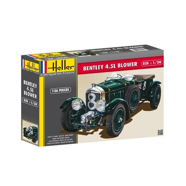 1900 Replica Kit Makes Bentley: Bentley 4,5L Blower (Le Mans 1930) Heller 80722