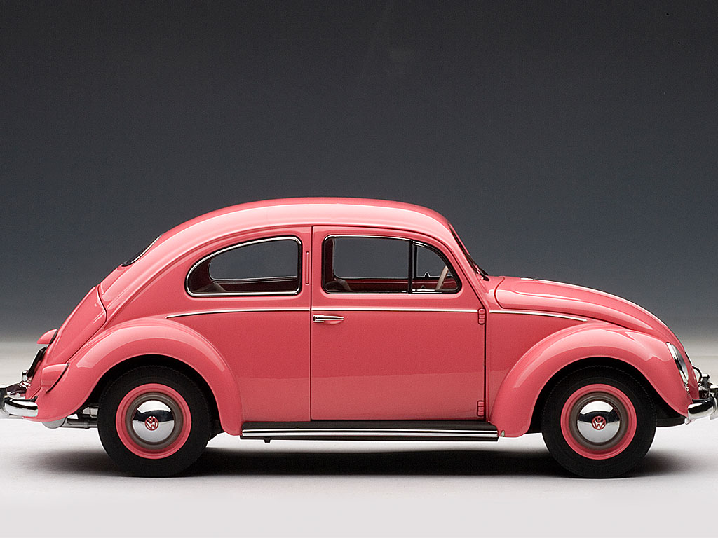 volkswagen beetle kaffer limousine 1955 pink limited. Black Bedroom Furniture Sets. Home Design Ideas