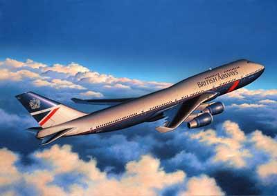 Boeing 747 400 British Airways Revell 04204