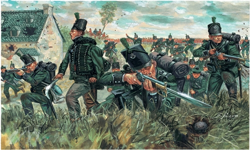 Napoleonic Wars British 95th Regiment Green Jackets Italeri 6878