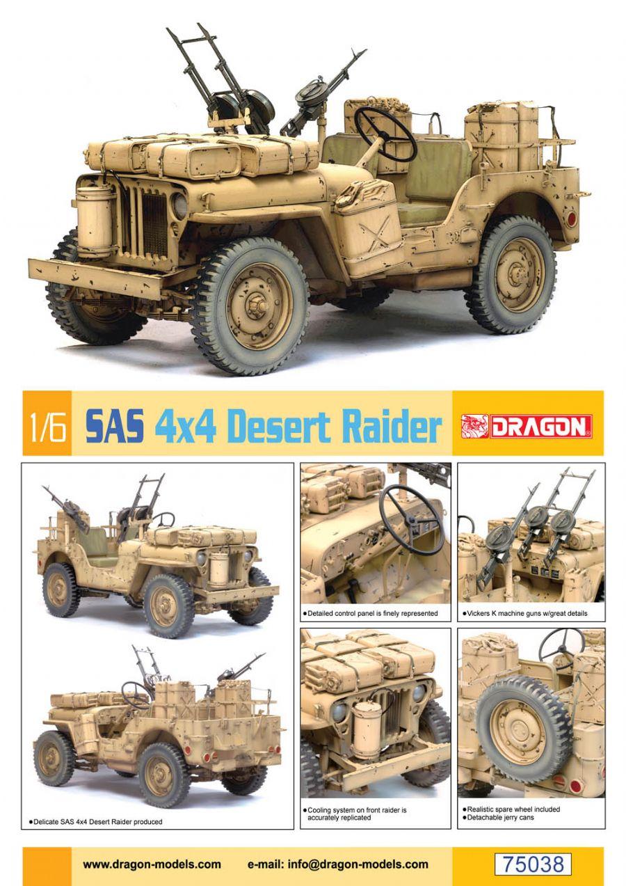 jeep sas 4x4 desert raider dragon 75038. Black Bedroom Furniture Sets. Home Design Ideas