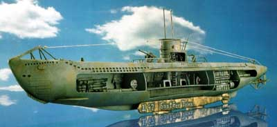 U 47 g prien mit interieur revell 05060 for Interieur u boat