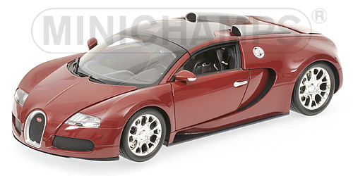 bugatti veyron grand sport die cast model minichamps 100110832. Black Bedroom Furniture Sets. Home Design Ideas