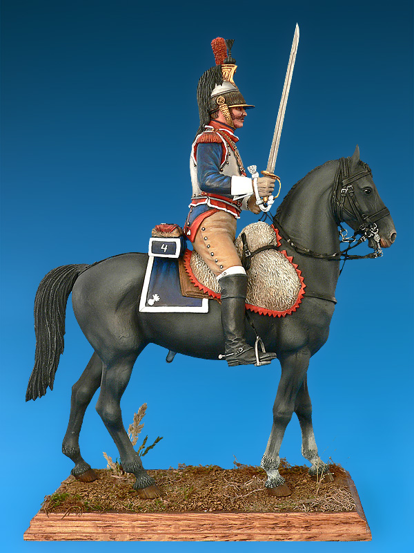 French Cuirassier Napoleonic Wars Miniart 16015