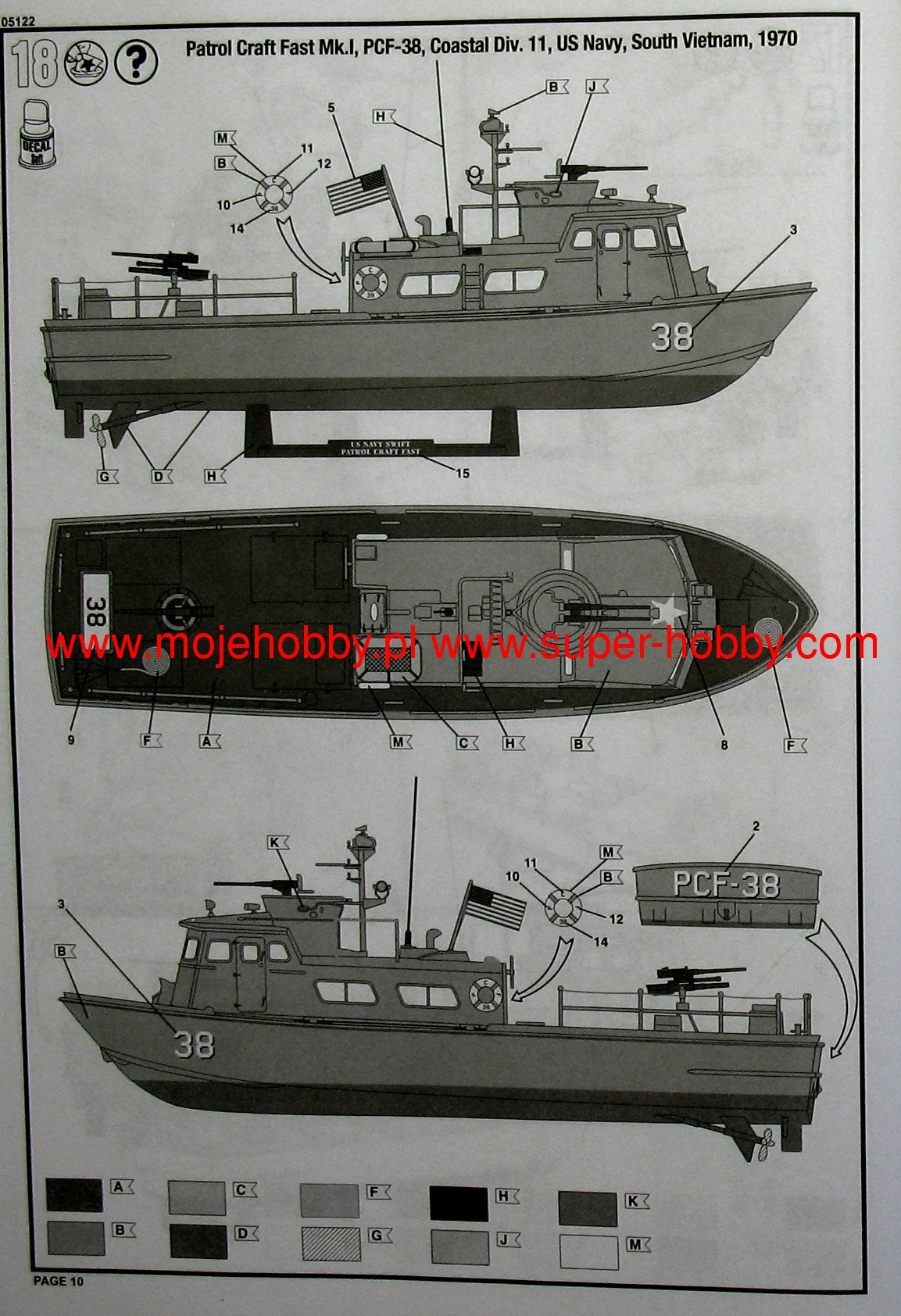 US Navy Swift Boat (PCF) Revell 05122
