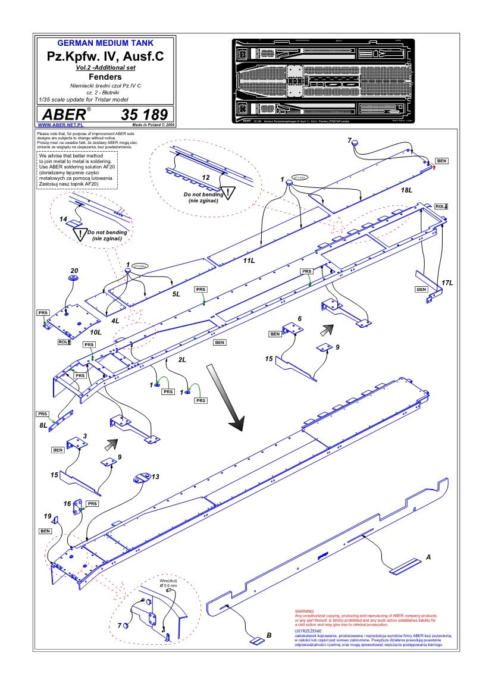 Pz C Puertas Exterior: Pz.Kpfw. IV, Ausf. C Vol.2