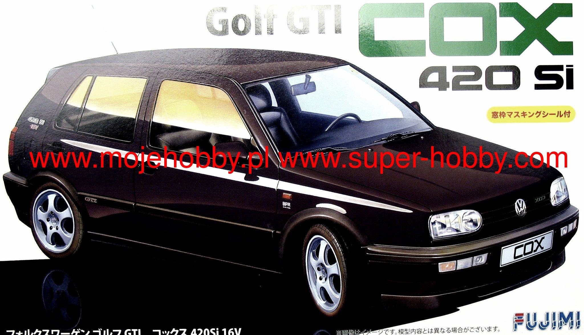 volkswagen golf iii gti cox 420si 16v fujimi 126180. Black Bedroom Furniture Sets. Home Design Ideas