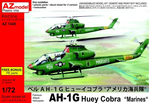 "Bell AH-1G Early ""Huey Cobra"" Marines - Image 1"