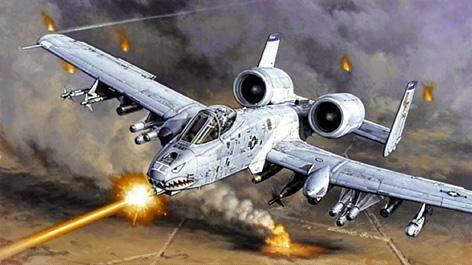 A-10 THUNDERBOLT II Heller 49912
