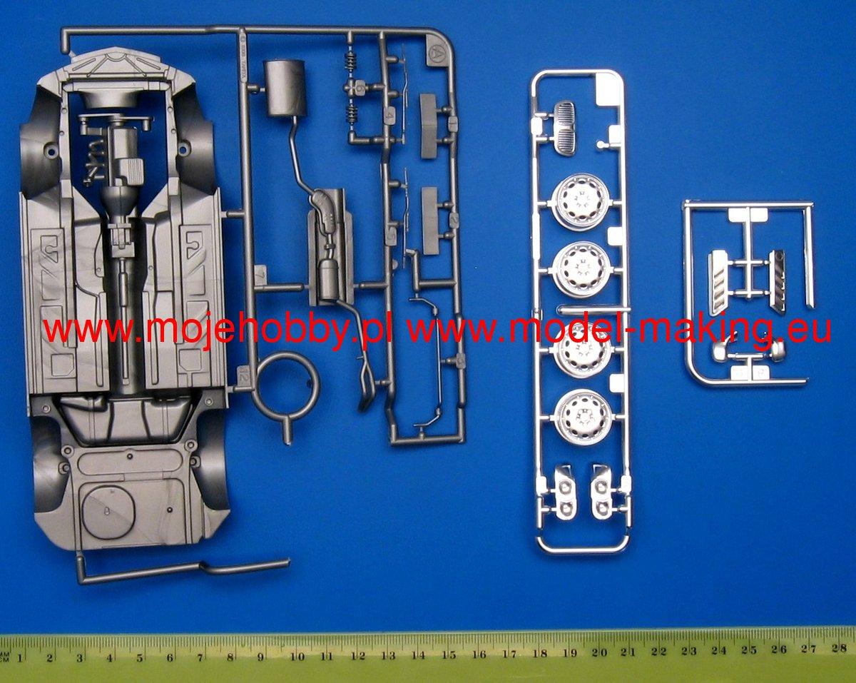 Bmw Z3 Roadster Metal Plated Body Tamiya 89592