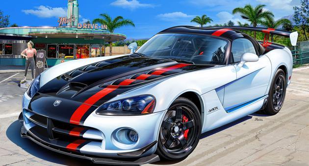 Dodge Viper Srt 10 Quot Acr Quot Revell 07079