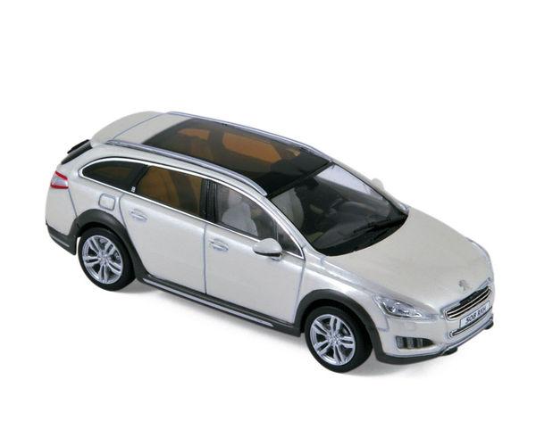 peugeot 508 rhx 2012 white die cast model norev 475805. Black Bedroom Furniture Sets. Home Design Ideas