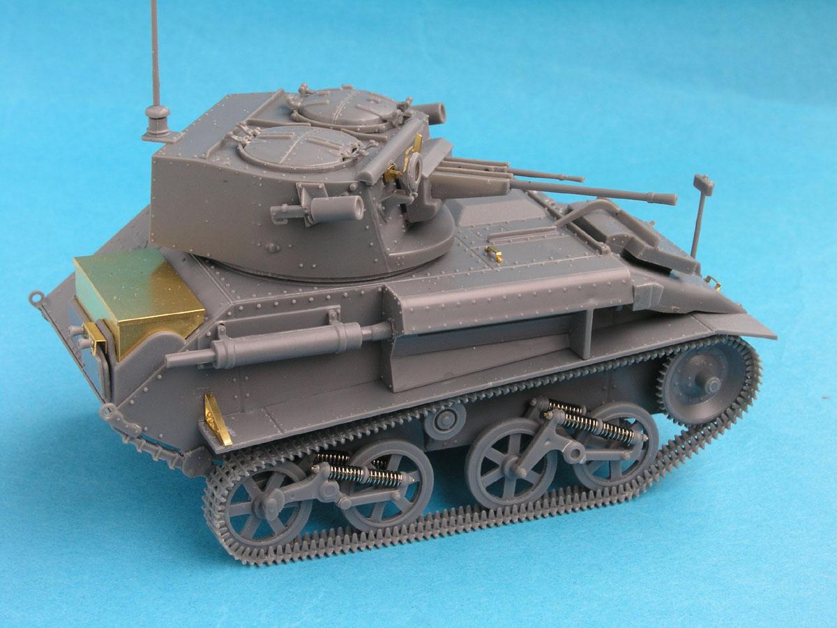 British Light Tank Mk.VI C Vulcan Scale Models 56009