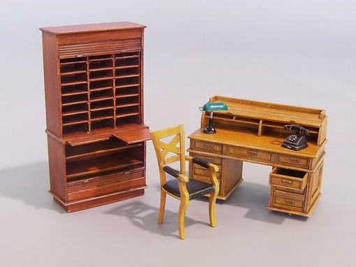 Office furniture plus model 163 for Scale model furniture