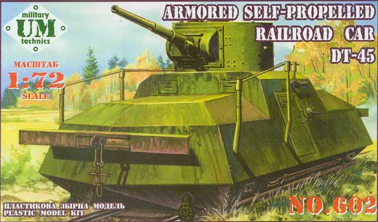 Armoured Self Propelled Railroad Car DT-45 - Image 1