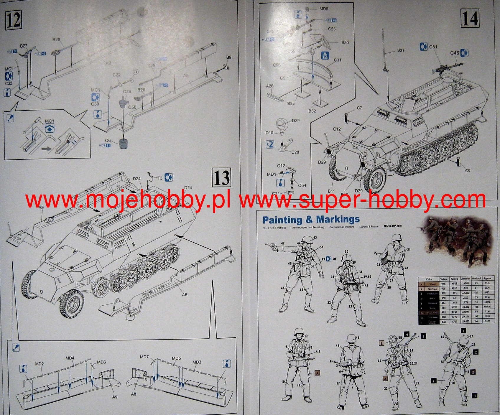 Sdkfz 251 Ausfc And German Infantry In Action 1941 1942 Super Md6 Wiring Diagram 2 Dra9135 3 4