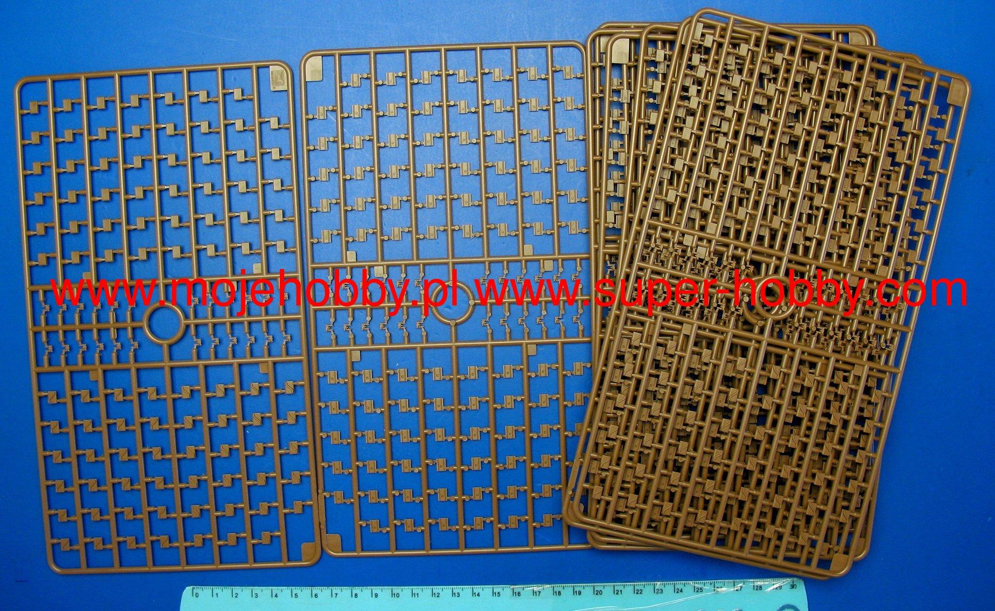 AFV 1//35 T80E1 Track Links Steel Type AFV35036