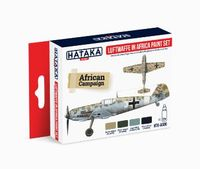 HTK-AS06 Luftwaffe in Africa paint Set