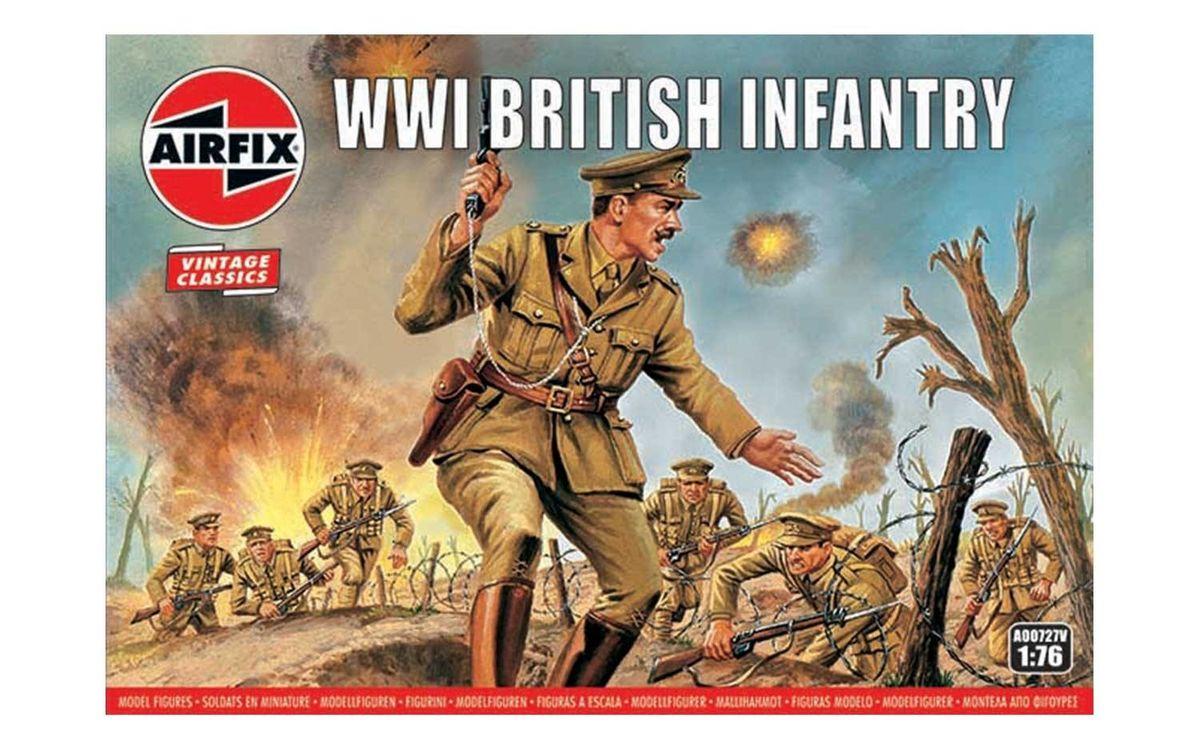 WWI British Infantry Airfix 00727