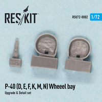 P-40 D,E.F,K,M,N Wheel bay - Image 1
