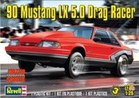 90 Mustang LX 5,0 Drag Racer - Image 1
