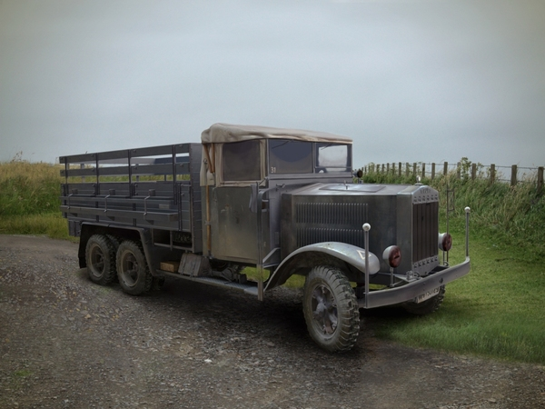 Krupp L3H163 WWII German Army Truck