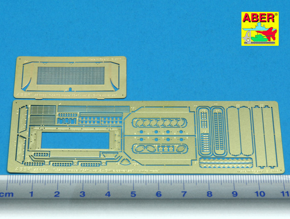 T-34/76 model 1941- Vol.2 grille cover set (TAM) - Image 1