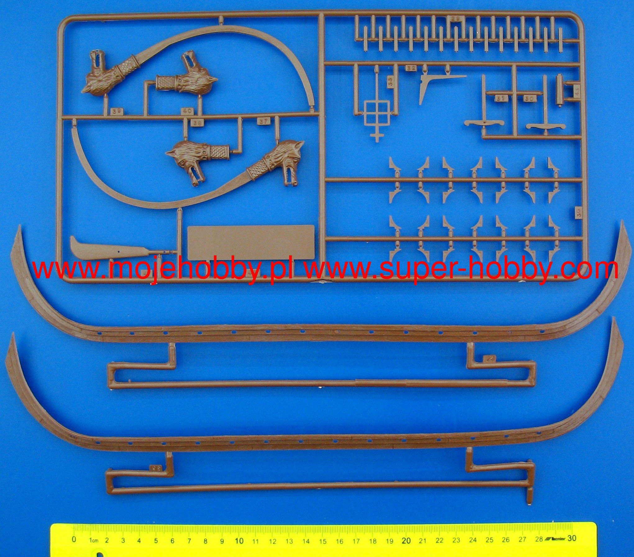 Heller 80853/Model Kit Leif Eriksson /& Turf Karl Efni