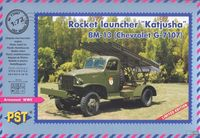Katyusha BM-13 on Chevrolet G.7107