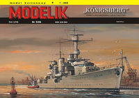 German light cruiser Konigsberg