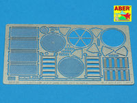 Grilles for Sd.Kfz.171 Panther, Ausf.G -late model (TAM) - Image 1