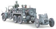 Krupp Protze 1 ton (6x4) Kfz.69 TOWING TRUCK with 3.7cm Pak - Image 1