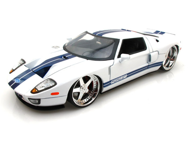 Ford Gt White Image