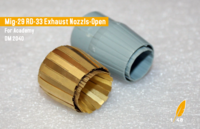Exhaust nozzles for RD-33/93 (ACADEMY)