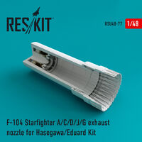 F-104 Starfighter (A/C/D/J/G) exhaust nozzle for Hasegawa/Eduard Kit