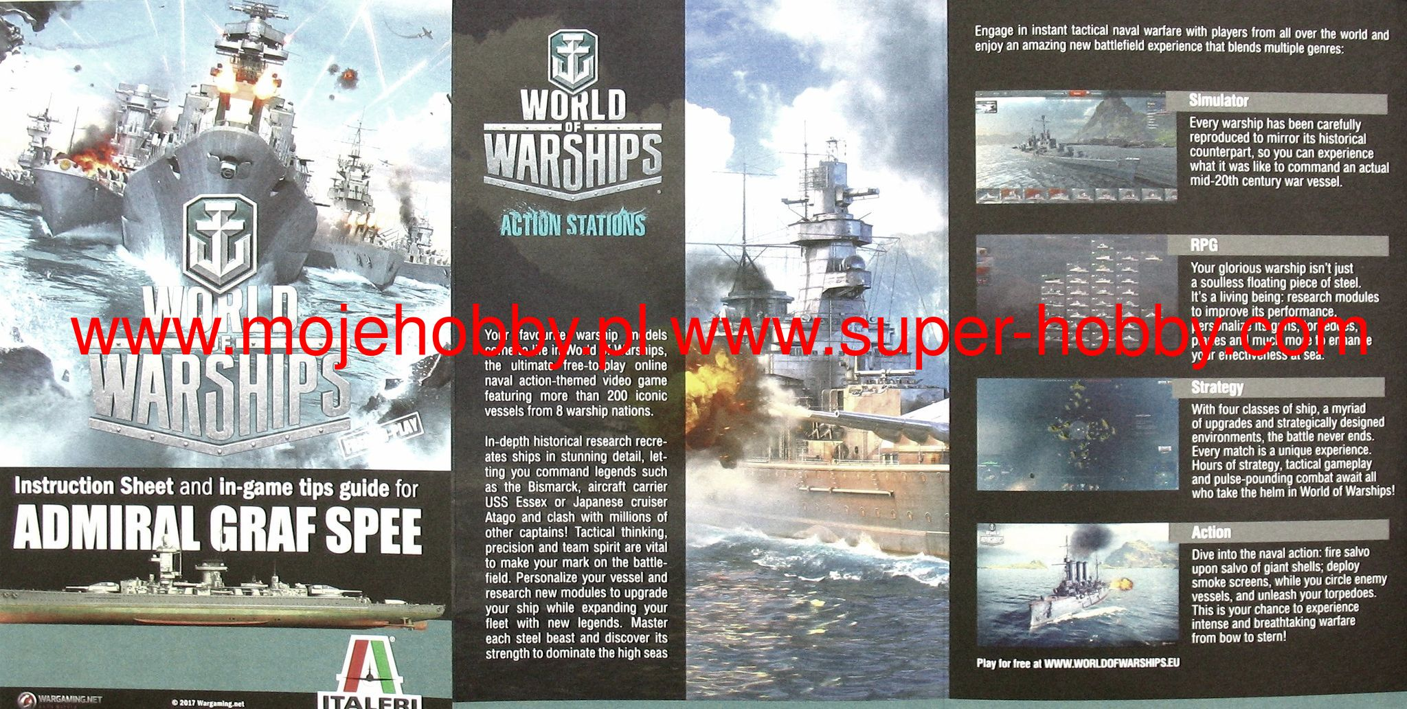 World of Warships - Admiral Graf Spee - Action Stations