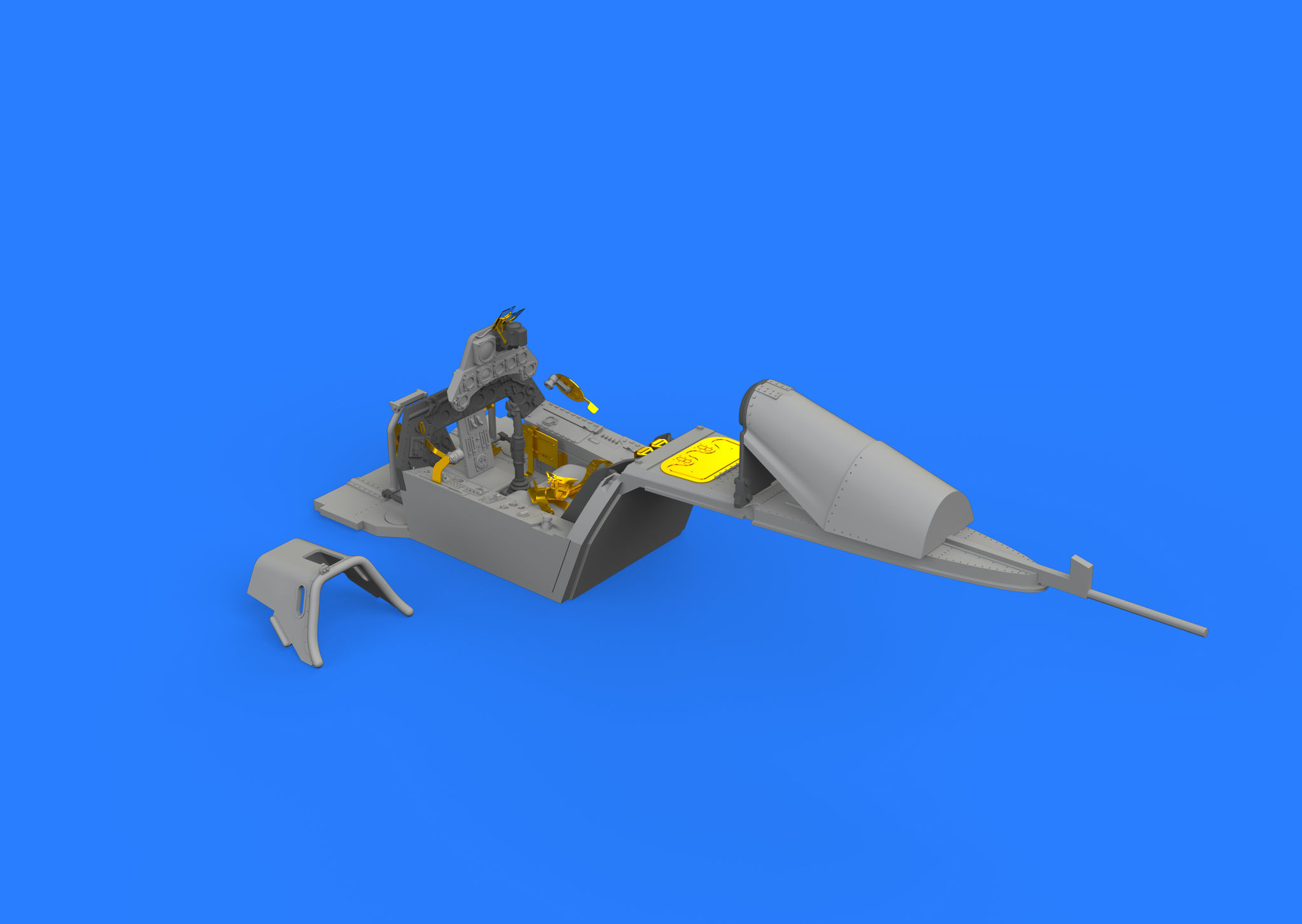 Eduard Accessories 632120 Fw 190A-8//R11 cockpit for Revell in 1:32