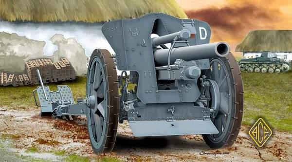 German le FH18 10,5 cm Field Howitzer ACE 72216