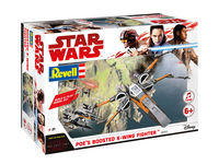 Star Wars Poes Boosted X-Wing Fighter - Build & Play Model Kit