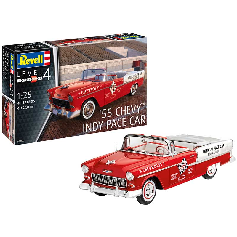 55 Chevy Indy Pace Car - Image 1
