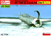 Messerschmitt Bf 109G-2/Bf 109G-4/Bf 109G-6/Bf 109G-14 (sprues only), 3 kits only. No decals - Image 1
