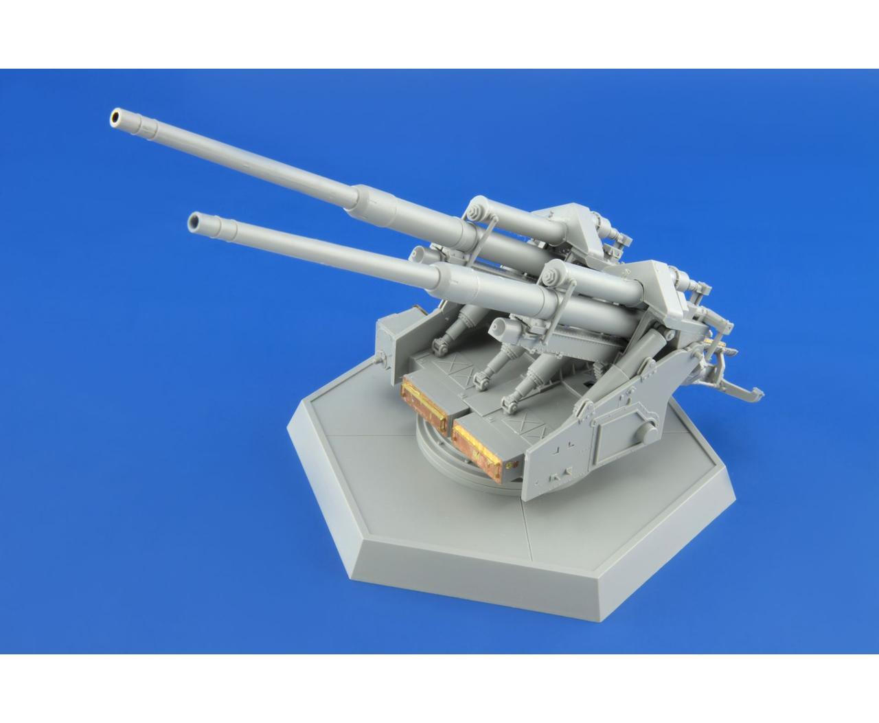 WWII German 12.8cm FlaK 40 Zwi...