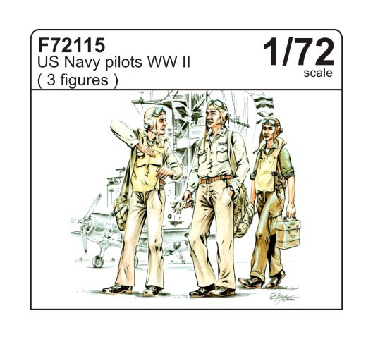 US Navy pilots WWII - Image 1