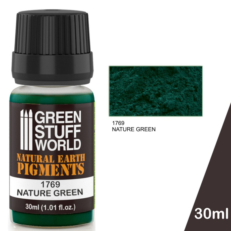 1769 NATURE GREEN pigments - Image 1