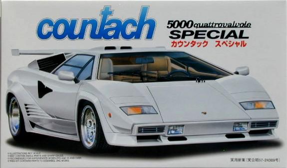 Lamborghini Countach 5000 Quattrovalvole Special Fujimi 124766
