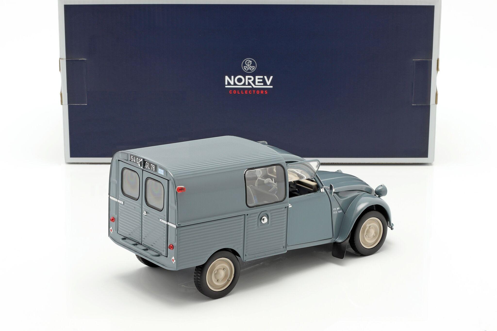 Norev Citroen 2CV AK350 Fougonnette Bleu n/év/é 1966 1//18